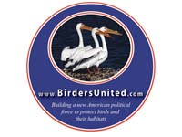 Birders United Sticker