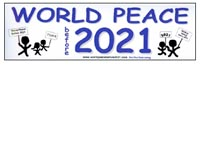 World Peace Sticker