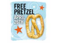 Free Pretzel from Pretzel Time