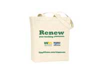Free Renew Tote Bag for Teachers