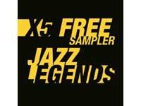 Free X5 Jazz Legends Sampler