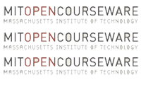 Free MIT Courses and Materials