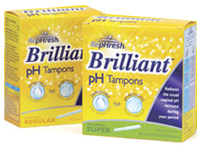 Free Sample of Brilliant Tampons