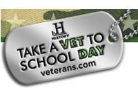 30 Free 'Take a Veteran to School' Wristband