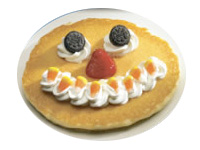 Free Scary Pancakes for Kids at IHOP Oct. 29th