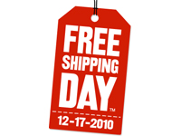 Free Shipping Day: More Than 1,724 Merchants