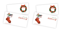 Free Downloadable Holiday Mailing Labels