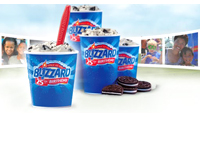 Free Blizzard from Dairy Queen