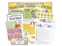 Teachers Only: Free Pet Care Kit with Coupons, Posters and Stickers