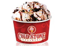 Free Cold Stone Sprinkled With Wishes Creation on Sept. 27th from 5-8 p.m.