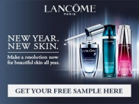 Free Sample from Lancome!!