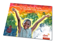 Free CBM Giving Love, Joy and Peace to Children with Disabilities 2012 Calendar