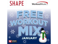 Free Shape Free Workout Mix January Download