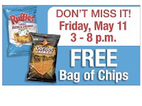 Free Bag of Chips at Krogers Today Only