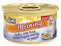 Free Fancy Feast Cat Food Sample Today Only at Noon
