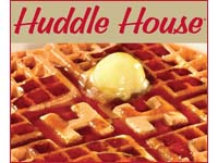 Free Golden Waffle at Huddle House August 24th on Facebook