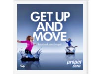"Free Music Download of ""Get Up and Move"" from Propel"