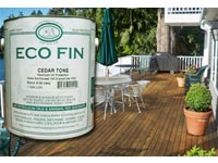 Free Sample of Sun Frog Eco Fin Environmentally Friendly Wood Stain
