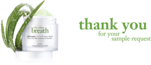Expired: Free Sample of Philosophy Take a Deep Breath Moisturizer
