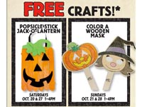 Tons of Free Halloween Events, Activities and Crafts at Bass Pro Shops