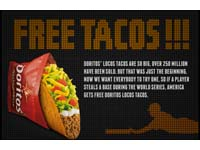 Free Doritos Locos Tacos for America  on October 30