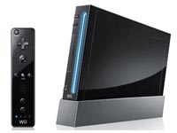 Win a Black Wii Console with New Super Mario Brothers!