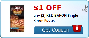 Expired:Red Baron Pizza Coupon