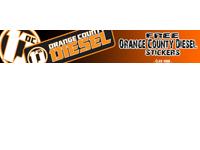 Free Sticker: Orange County Diesel