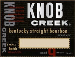 Free Customizable Knob Creek Label