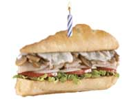 Free Firehouse Sub on Your Birthday