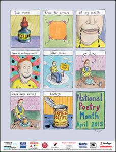 Expired:Free National Poetry Month Poster