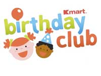 Kmart Kids Birthday Club with Great Rewards