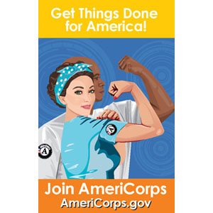 Free AmeriCorps Stickers