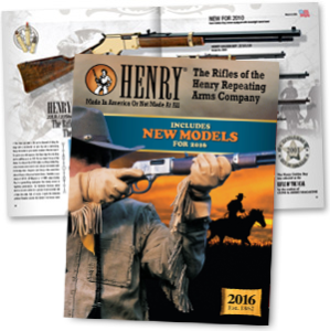 Free Henry Catalog and Free Sticker