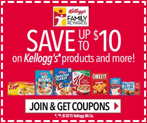 Expired: Get Free Rewards from Kellogg's Family Rewards!
