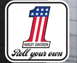 free Harley Davidson sticker