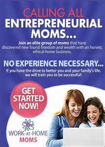 Calling All Moms-Start a New Home Business