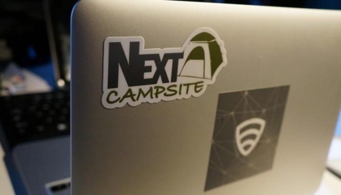 Free NextCampsite Stickers
