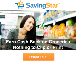 SavingStar paperless coupons