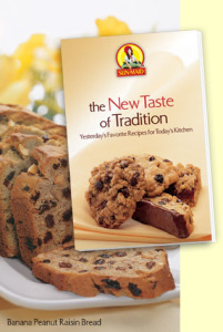 Free Sun-Maid New Taste of Tradition Recipe Book