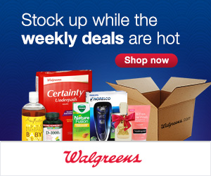 Expired: Hot Deals at Walgreens
