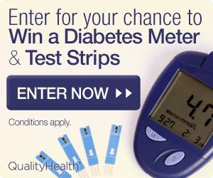 Win a Diabetes Meter & Strips