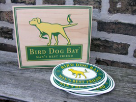 Bird Dog Bay stickers