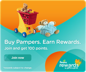 Join Pampers Rewards Get 100 Free Points!