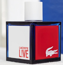 Expired: Free Sample of Lacoste Live Fragrance