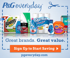 Free Samples & Offers from P&G Everyday