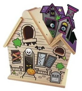 free haunted house kid's clinic at Lowe's