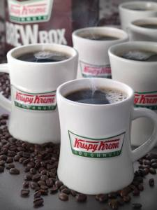 Expired: Free Cup of  Coffee from Krispy Kreme