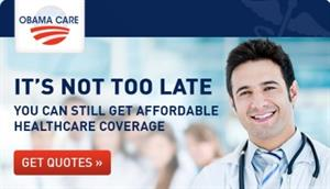 It's not too late: get affordable health care with ObamaCare