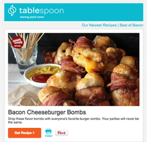 free tablespoon recipe book